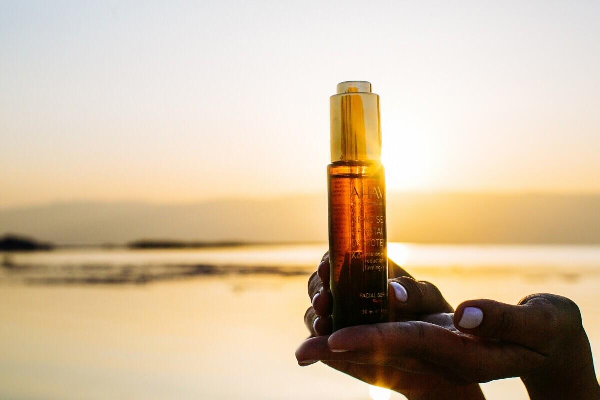 Активные минералы мёртвого моря - источник красоты