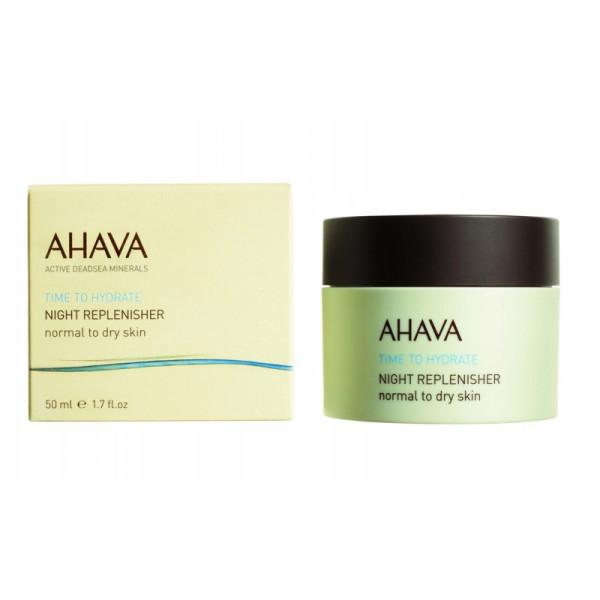 Time To Hydrate ночной восстанавливающий крем для нормальной и сухой кожи